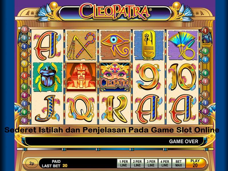 Sederet Istilah dan Penjelasan Pada Game Slot Online